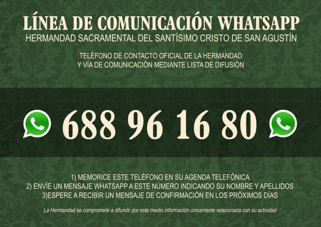 WhatsApp Hdad. de San Agustín, Granada