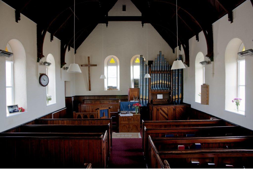 El órgano de Hewitt de la Capilla de Montserrat 2