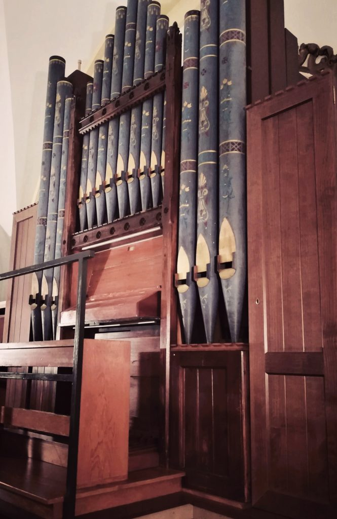 El órgano de Hewitt de la Capilla de Montserrat 5