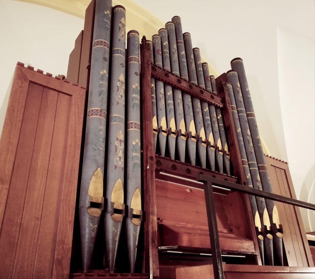 El órgano de Hewitt de la Capilla de Montserrat 7