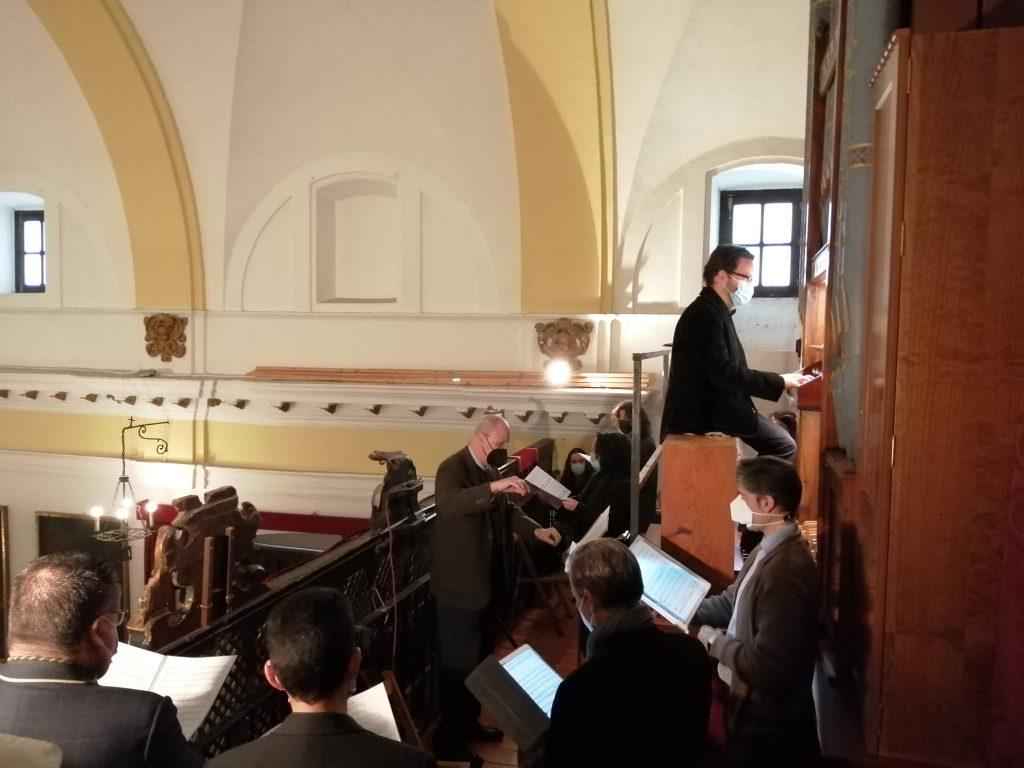 El órgano de Hewitt de la Capilla de Montserrat 9