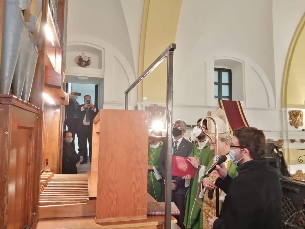 El órgano de Hewitt de la Capilla de Montserrat 10