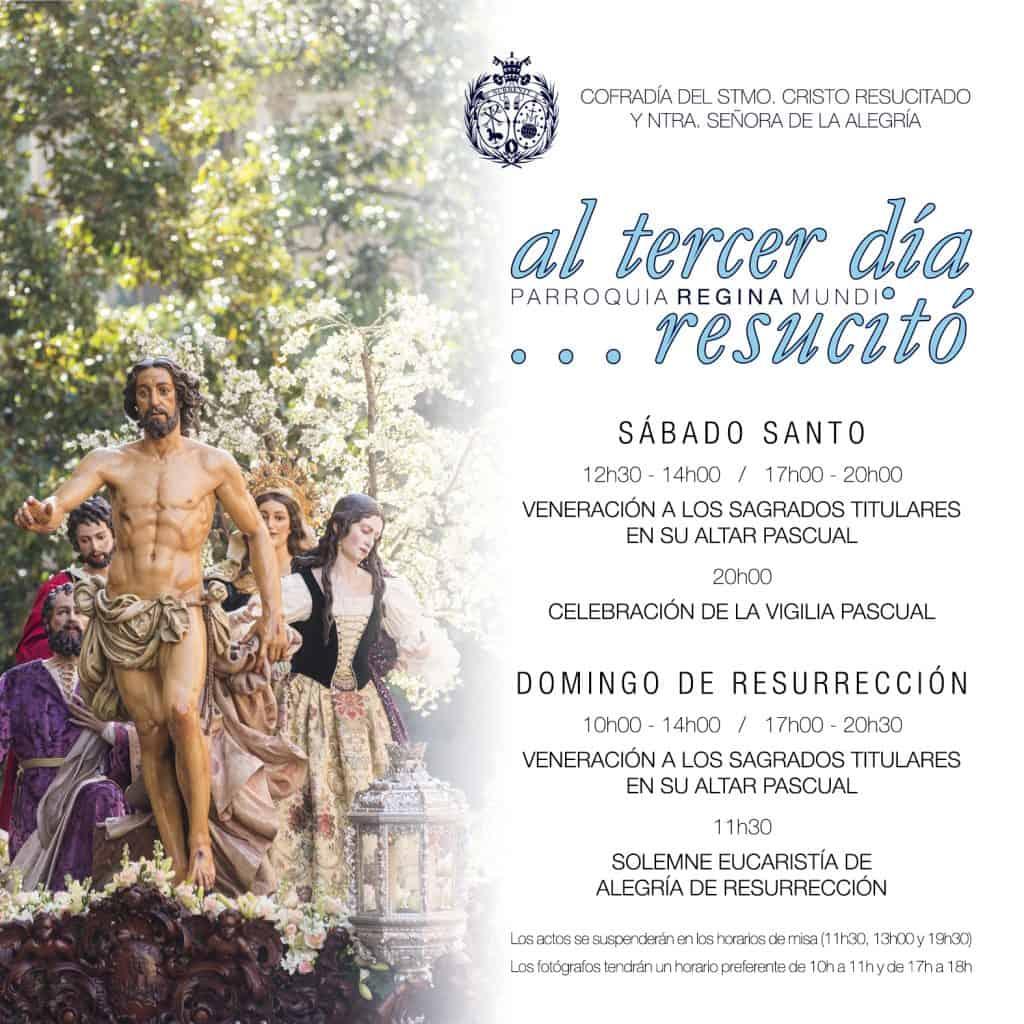 Actos para el Domingo de Resurrección 1