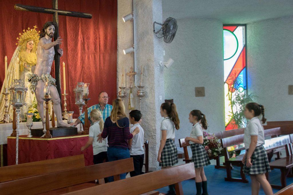 Encuentro escolares Jesús Resucitado