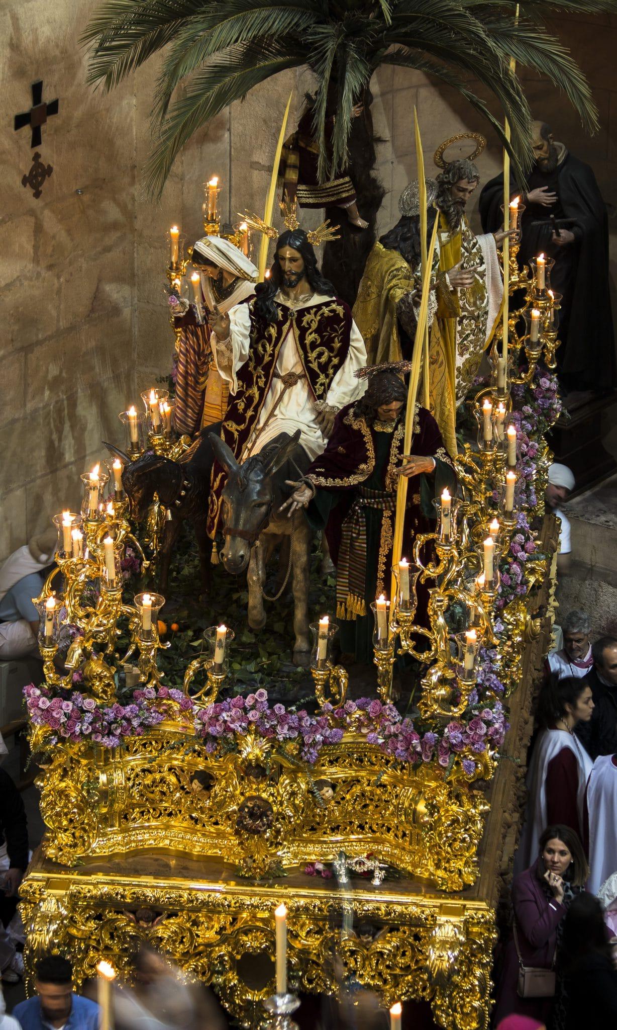 Semana Santa en Granada - Borriquilla