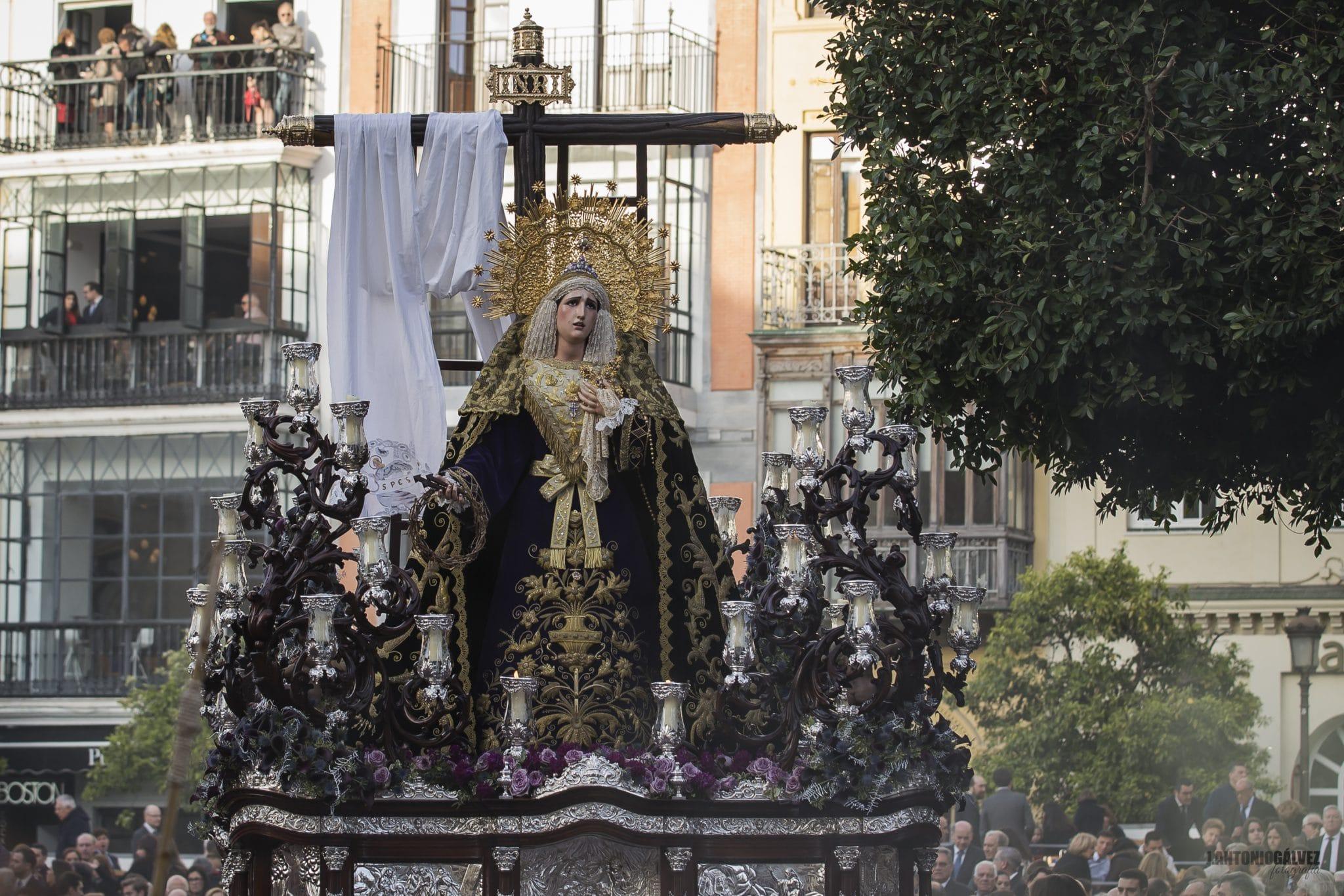 Semana Santa en Sevilla - La Soledad