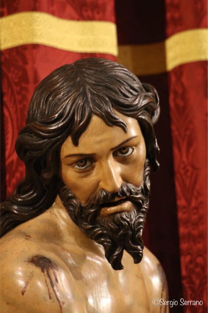 Semana Santa en Valladolid - Rosario del Dolor (Atado a la columna)