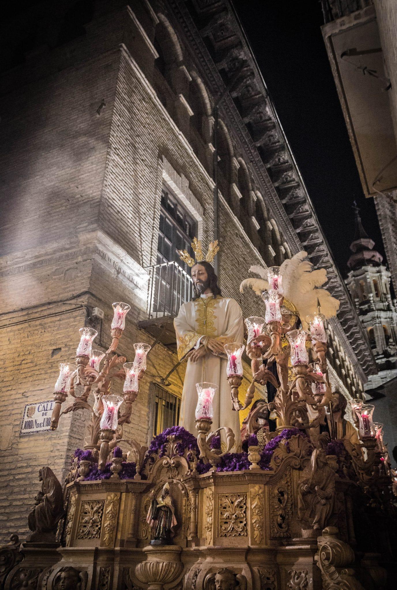 Semana Santa en Zaragoza - Estación de Penitencia Humildad