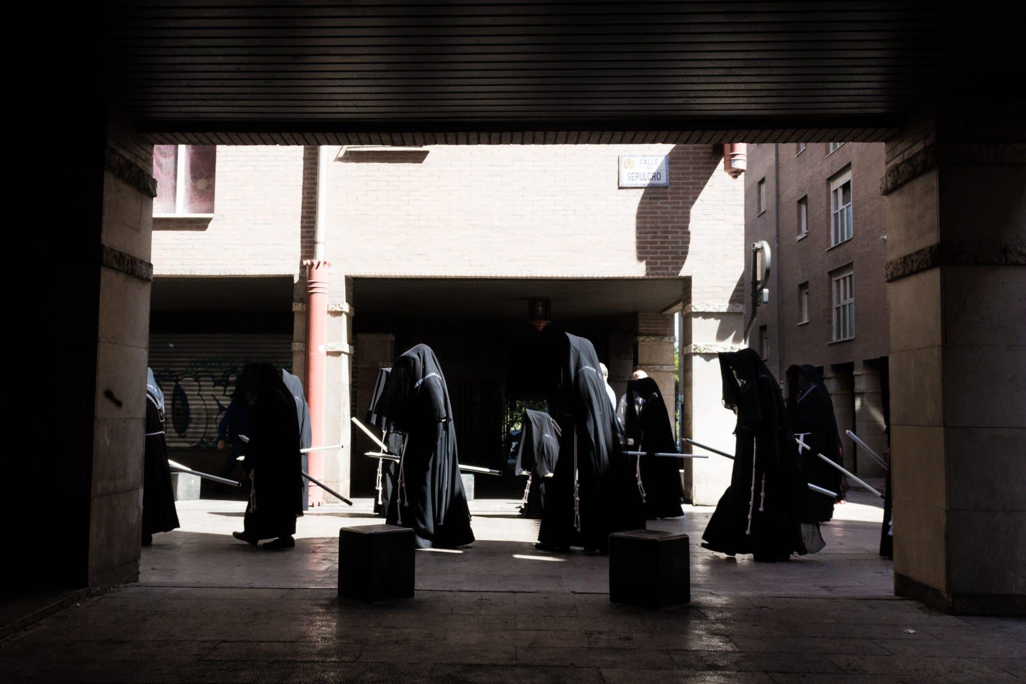 Semana Santa en Zaragoza - Procesión Titular Esclavas