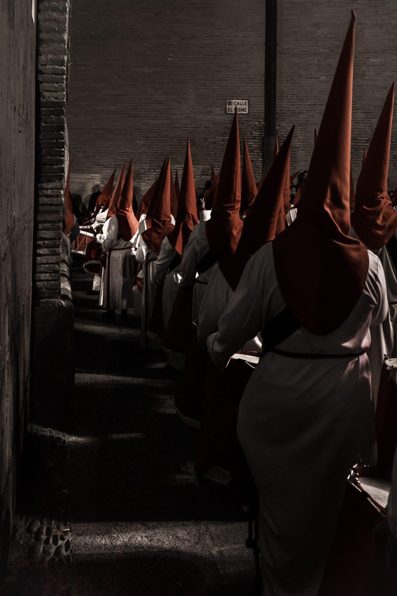 Semana Santa en Zaragoza - Procesion Titular Columna