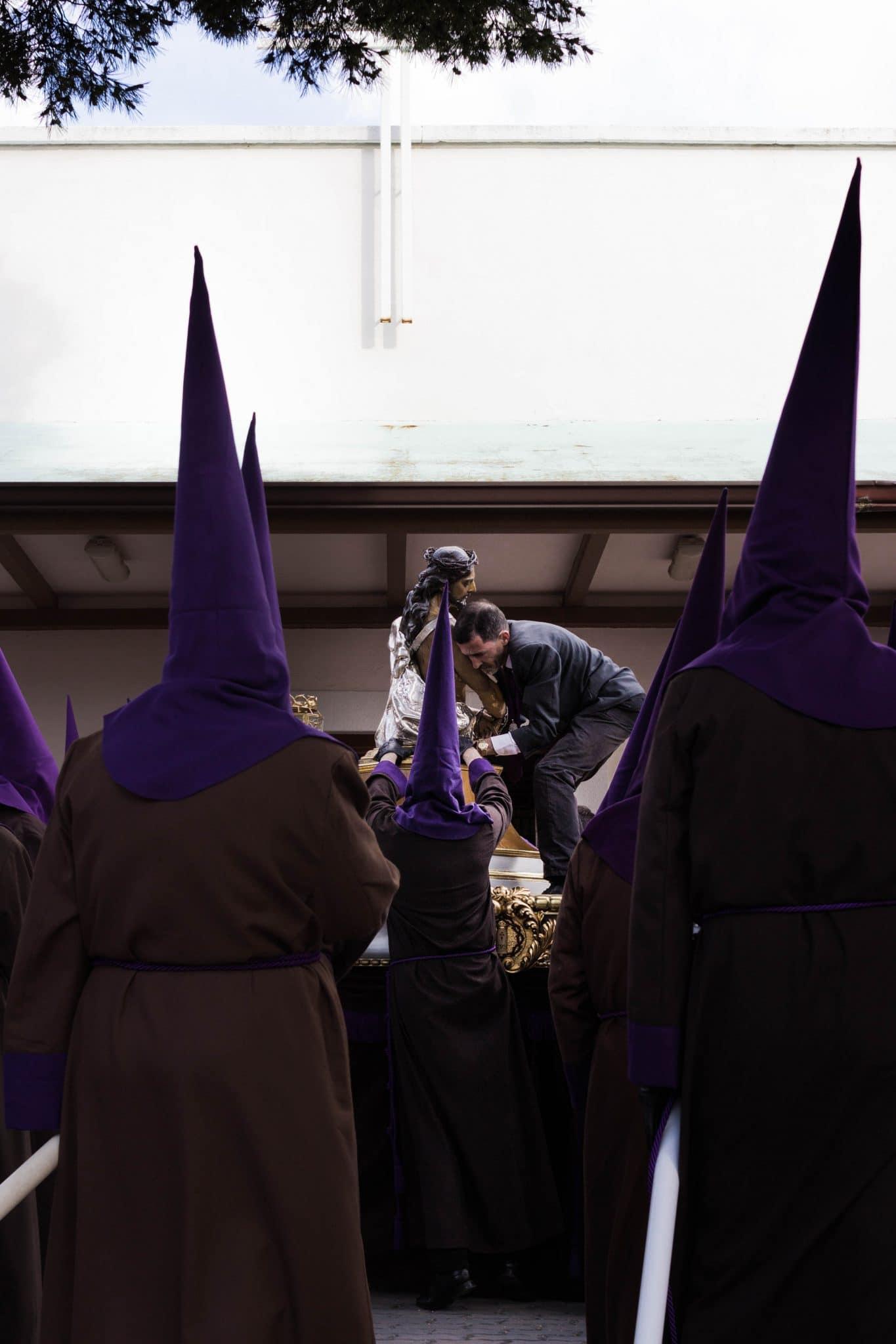 Semana Santa en Zaragoza - Via Crucis Coronación