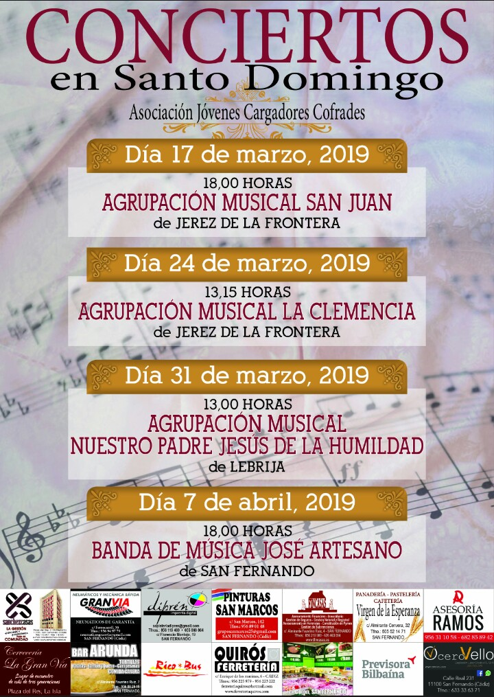 Conciertos en Santo Domingo