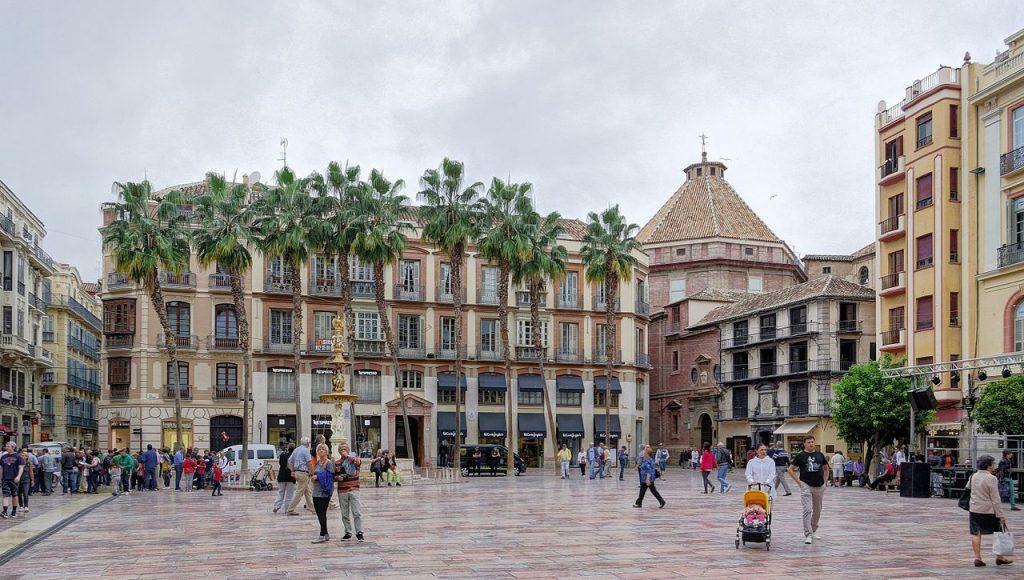 Plaza de la Constitución de Málaga
