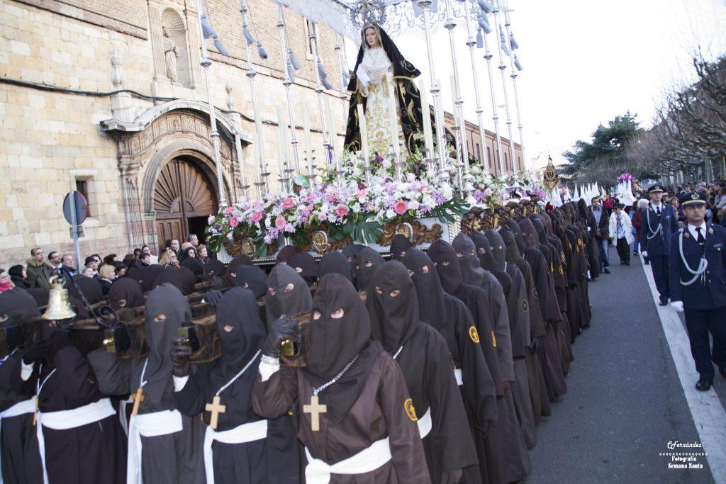 Semana Santa de León itinerarios