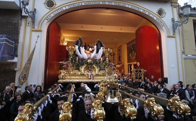 Semana Santa en Málaga - Traslado
