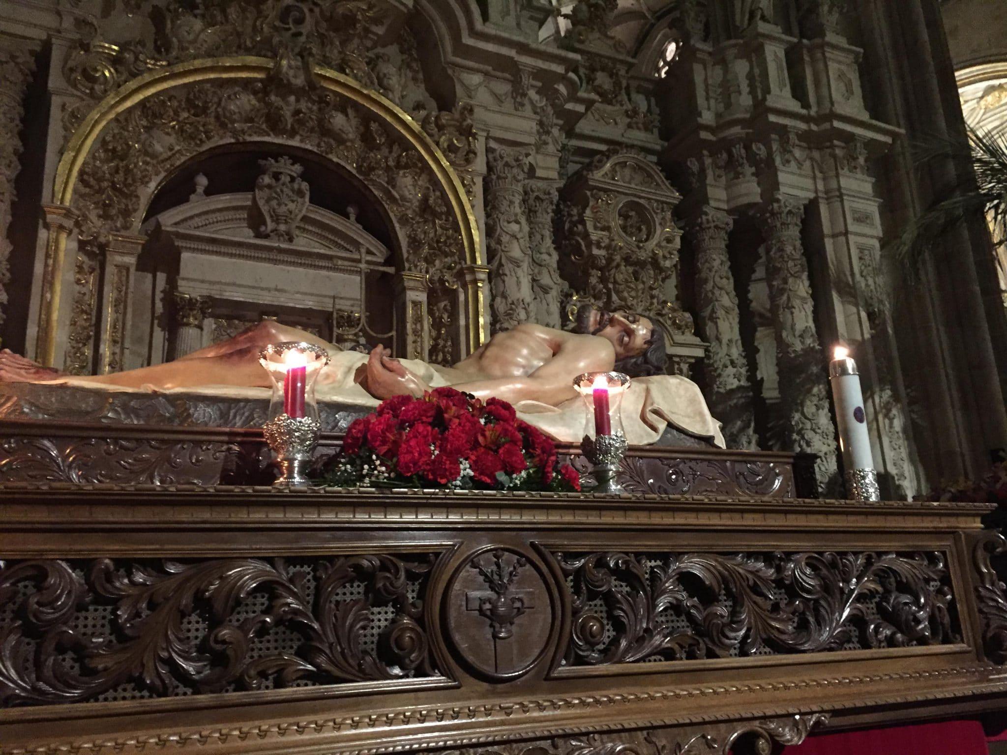 Procesión del Cristo Yacente Salamanca