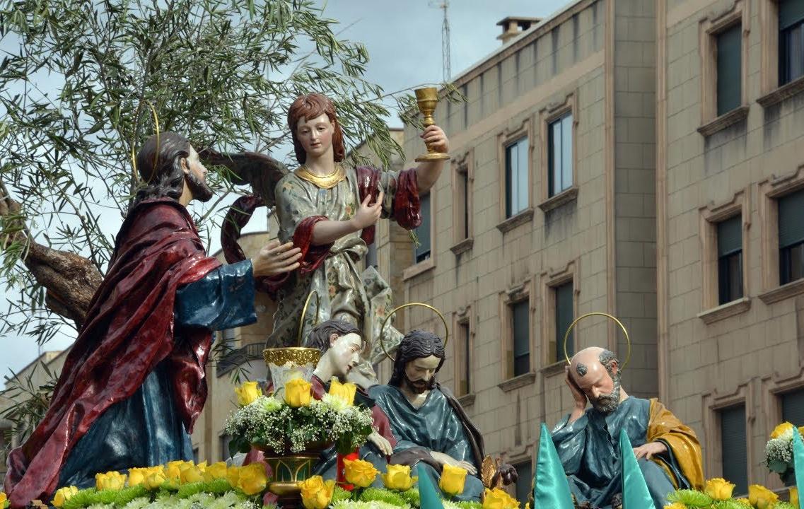 Procesión de Jesús en el Huerto de los Olivos Salamanca
