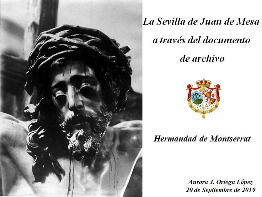Conferencia Hermanda de Montserrat - Sevilla