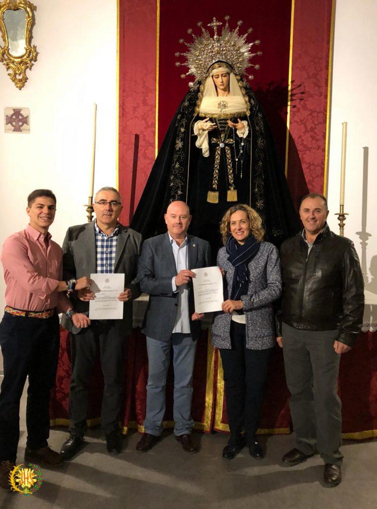 Firma con la banda 3 Borriquilla