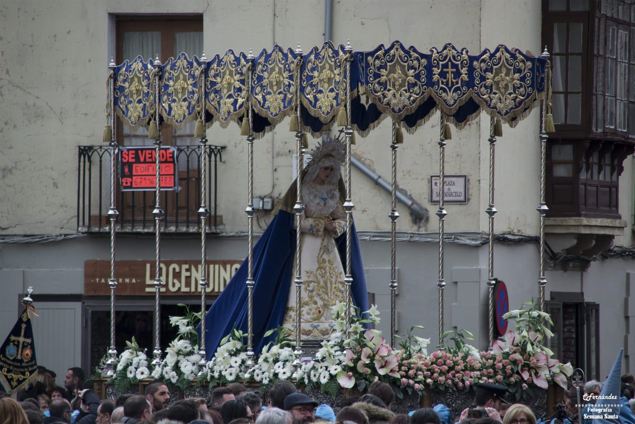 Procesión de las Bienaventuranzas, León 2
