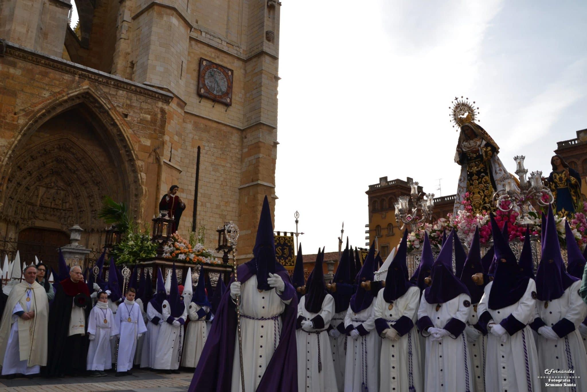 Procesión del Encuentro, León 12