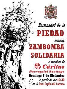Zambomba a favor de Cáritas Santiago