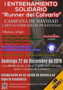 """Primer Entrenamiento Solidario """"Runner del Calvario"""" @ Real Capilla del Calvario"""