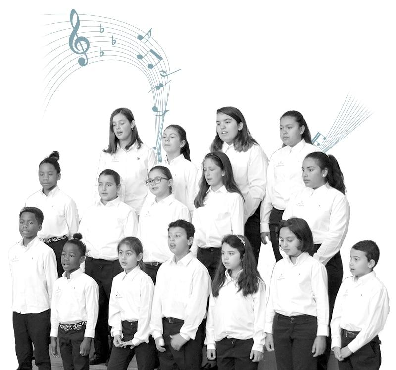 Coro navideño Montserrat