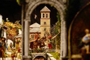 Belén tradicional navideño de la Borriquilla de Granada @ Plaza Bib-Rambla