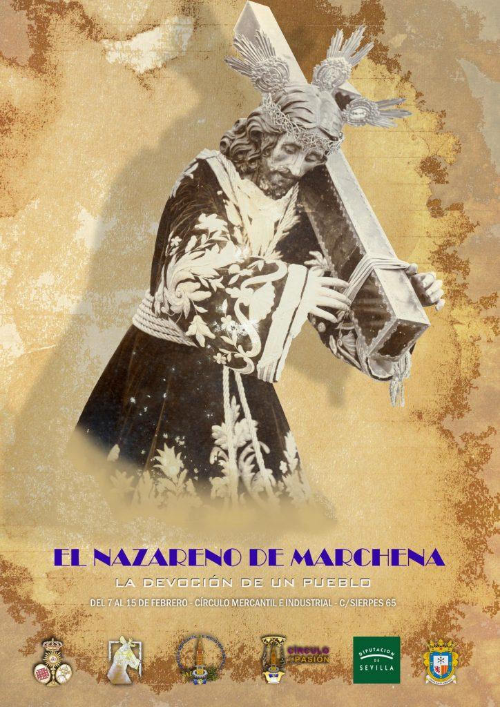 CARTEL EXPOSICION JESUS NAZARENO MARCHENA