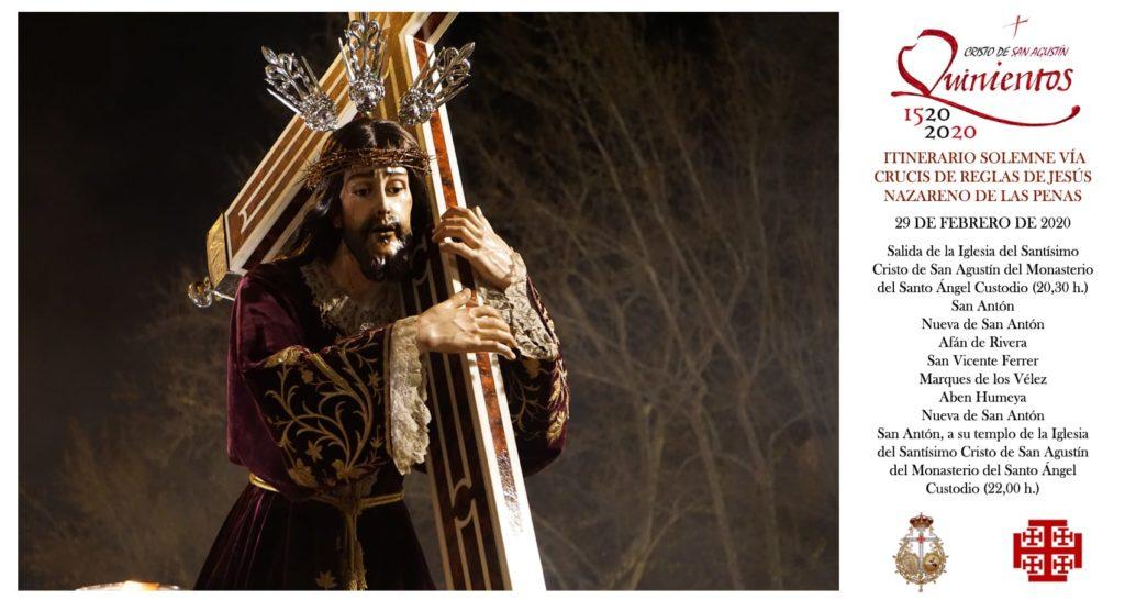Hdad. de San Agustín: Via Crucis 1