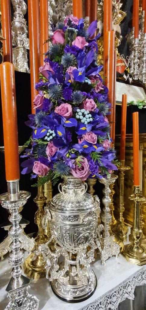 Simbología del Altar de la Novena al Santísimo Cristo de San Agustín 1