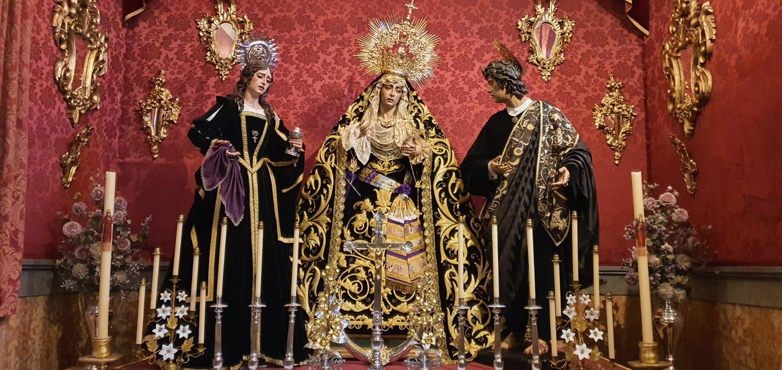 Sagrada Conversación (I) - Hdad. San Agustín