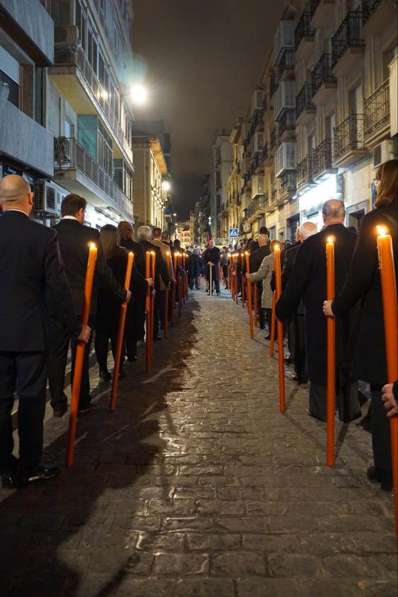 Via Crucis San Agustin, Granada