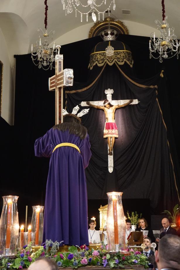 Via Crucis con Jesús Nazareno de las Penas 1