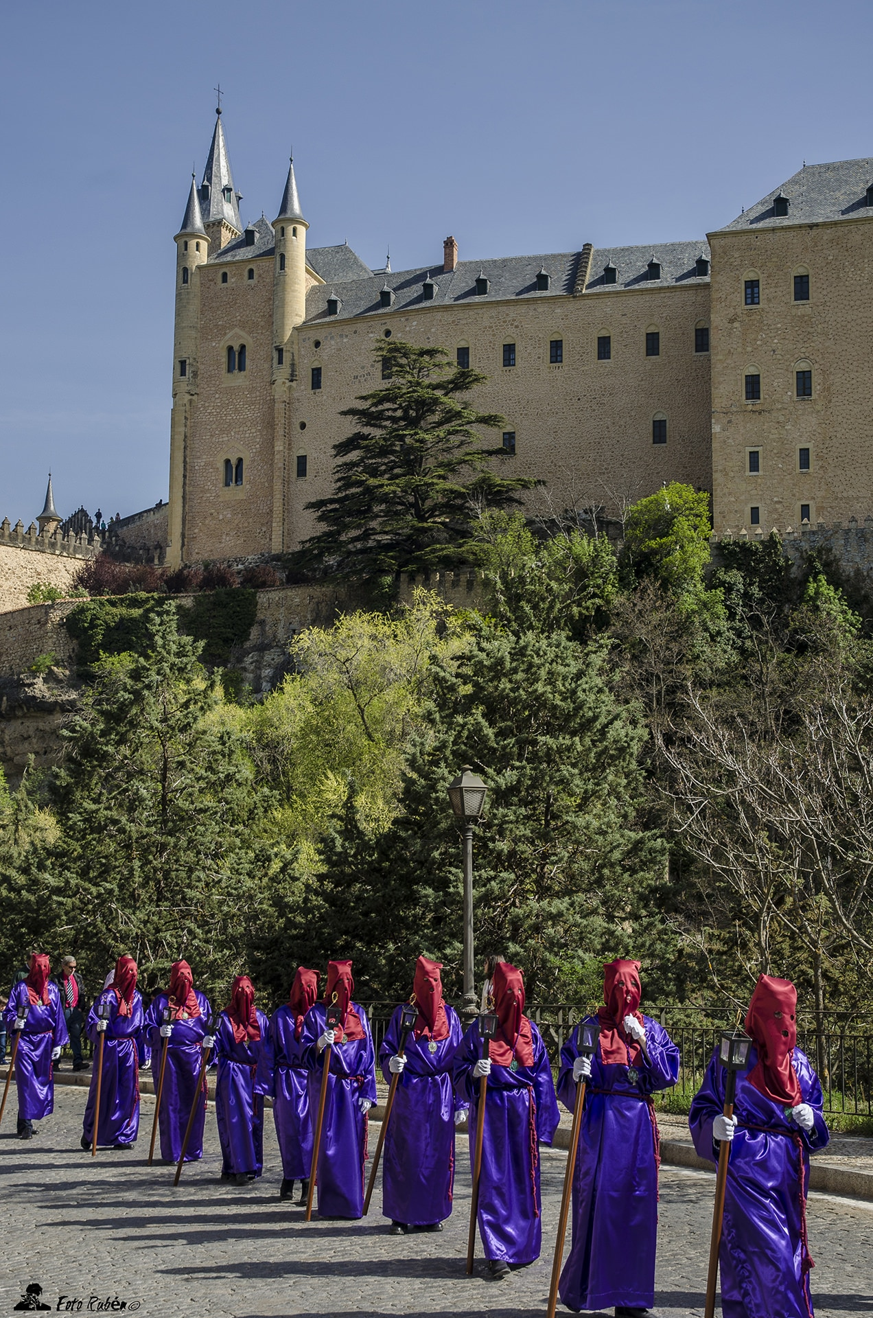 Via Crucis Penitencial Cristo de San Marcos, Segovia 1