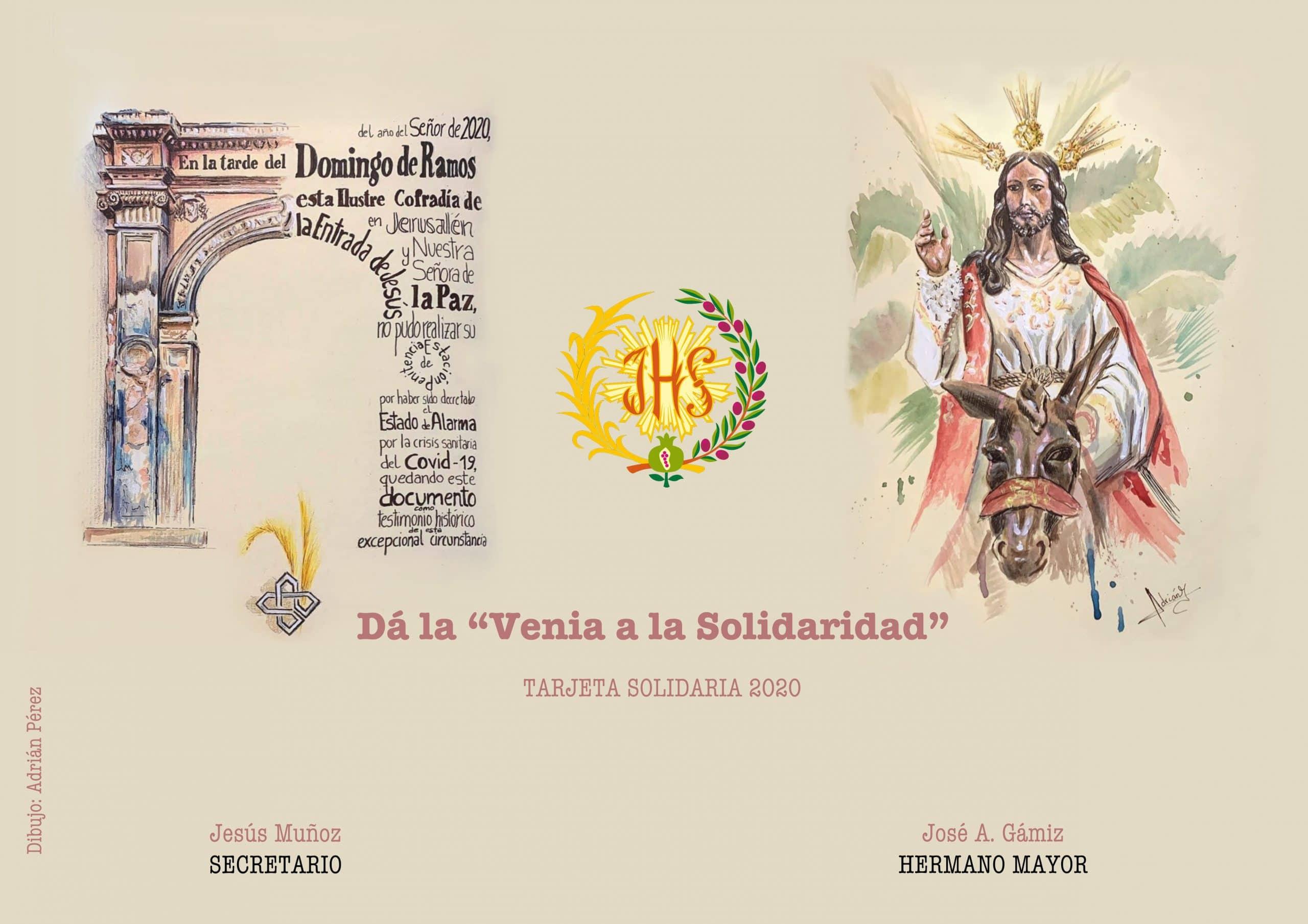 Tarjeta solidaria Granada